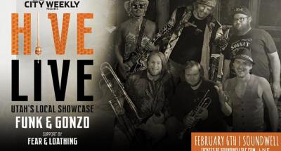 Hive Live ft Funk & Gonzo + Fear & Loathing