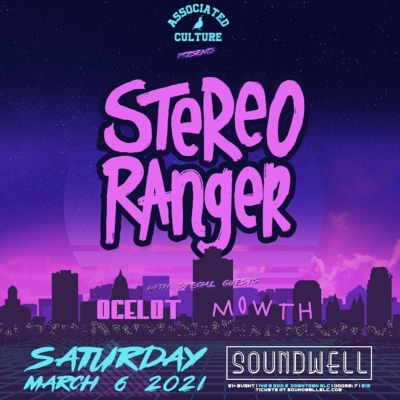 Stereo Ranger, Ocelot & Mowth at Soundwell SLC...