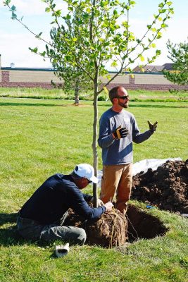 2021 Riverton Arbor Day Tree Planting Workshop