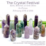 The Crystal Festival: Rock & Gem Show, and Rockhounding Kick Off Party
