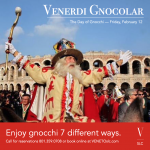 Venerdì Gnocolar — Gnocchi Friday