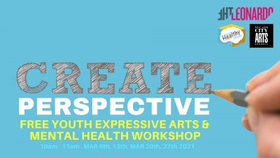 Create Perspective Arts and Mental Health Workshop