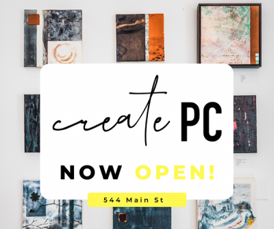 Create PC: Art Council Pop-Up Gallery and Shop