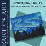 Heart for Art: Northern Lights