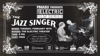 FREE Screening of THE JAZZ SINGER (1927)