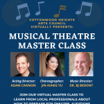Cottonwood Heights Free Virtual Theatre Masterclass