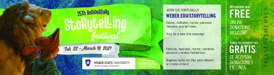 Weber State University's 25th Annual Storytelling ...