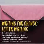 Writing for Change: Letter Writing