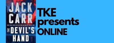 TKE presents ONLINE | Jack Carr | The Devil's Hand: A Thriller