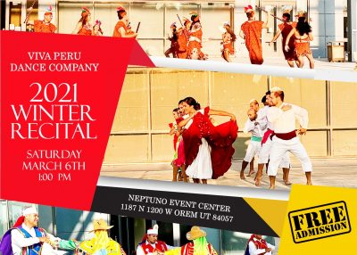 Viva Peru Dance Group 2021 Winter Recital