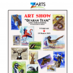 """Quaran Team"" Art Show featuring Watercolor Paintings by Linda Kohler Barnes"