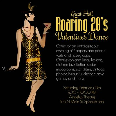 Great Hall Roaring Twenties Valentines Ball