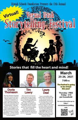 2021 Vernal UTAH Storytelling Festival - Virtual