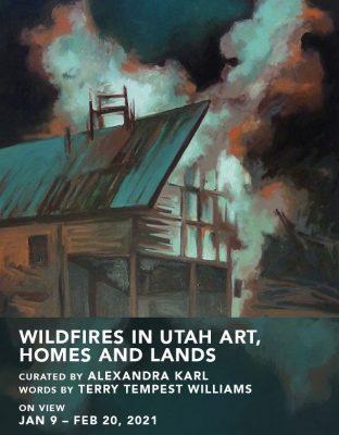 Wildfires in Utah Art, Homes and Lands