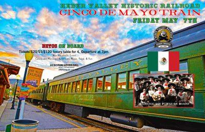 Cinco de Mayo Train 2021