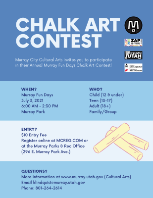 Murray Chalk Art Contest