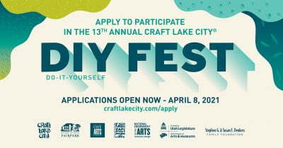 Kid Row Applications Open for the 13th Annual Craft Lake City DIY Festival Presented By Harmons