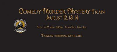 2021 Comedy Murder Mystery Train