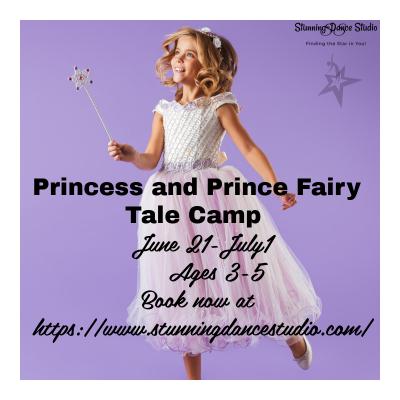Prince and Princess Fairy Tale Camp