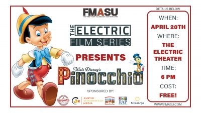 PINOCCHIO (1940) Screening at The Electric Theater...