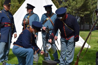 Johnston's Army Encampment 2021