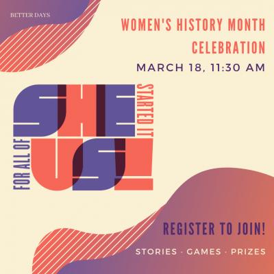Women's History Month Celebration!