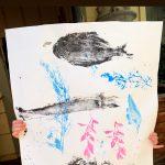 Gyotaku for Kids: The ancient Japanese art of printing fish with Jill Saxton Smith