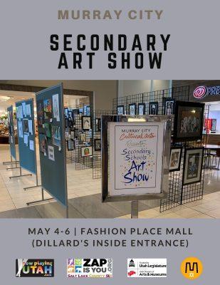 Murray City Secondary Art Show