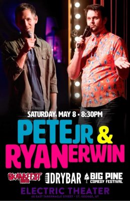 Live Comedy at the Electric Theater Featuring Pete Jr & Ryan Erwin