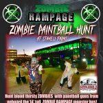 Zombie Rampage Spring Break Paintball Hunt!