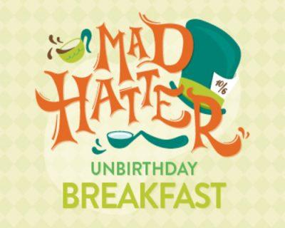 Mad Hatter Breakfast