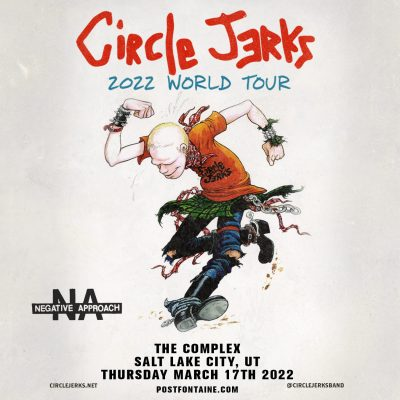 Circle Jerks @ The Complex *New Date