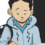 Virtual Guys Read Book Club: New Kid