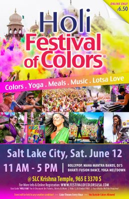 Holi Festival of Colors Salt Lake City 2021