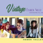 Vintage Fashion Shoot Train
