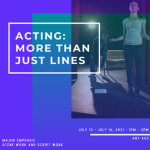Acting: More than just lines