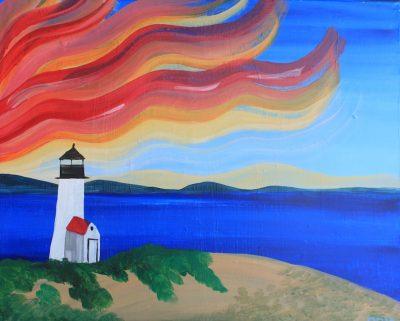 Beach Lighthouse - 21+