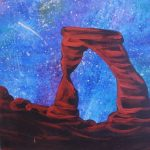 Outdoor Pizza & Paint at The Peaks: Cosmic Arch