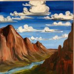 Outdoor Pizza & Paint at The Peaks: Zion NP