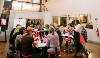 Mother's Day Paint Mixer at Homestead Resort