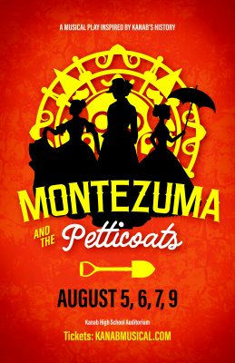 Montezuma and the Petticoats--a musical play
