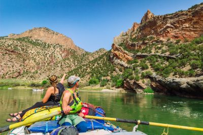 Lodore Canyon Rafting Trip