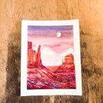 Art Workshop: Watercolor Basics Lesson #1: Mountains