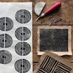 Art Workshop: Block Printing on Textile with Jill Saxton Smith