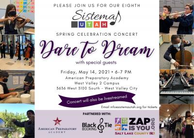 """Dare to Dream"" Sistema Utah Spring Concert with t..."