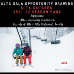 ALTA GALA OPPORTUNITY DRAWING FOR ALTA SEASON PASS