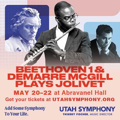 Beethoven 1 & Demarre McGill plays Jolivet