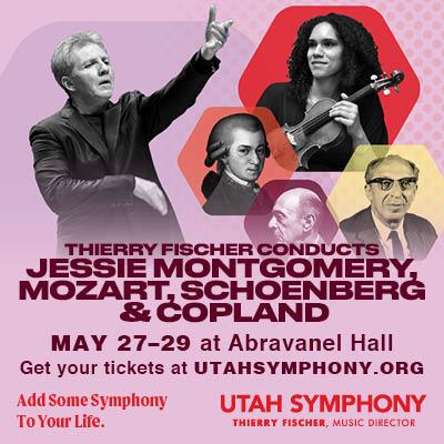 Thierry Fischer conducts Jessie Montgomery, Mozart, Schoenberg & Copland