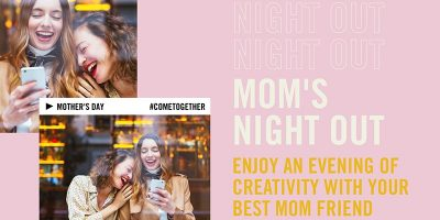 Moms Night Out: Paint Night & Drinks