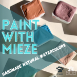 Paint With Mieze: Handmade Natural Watercolors